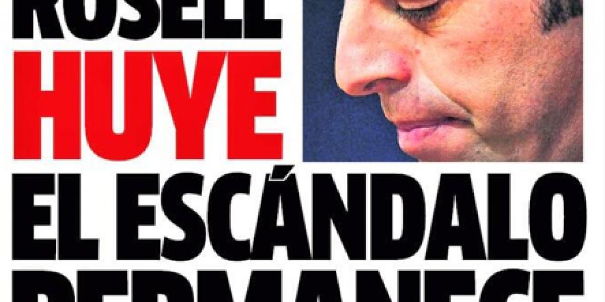 Dimisión del presidente del Barcelona se tomó las portadas deportivas en España