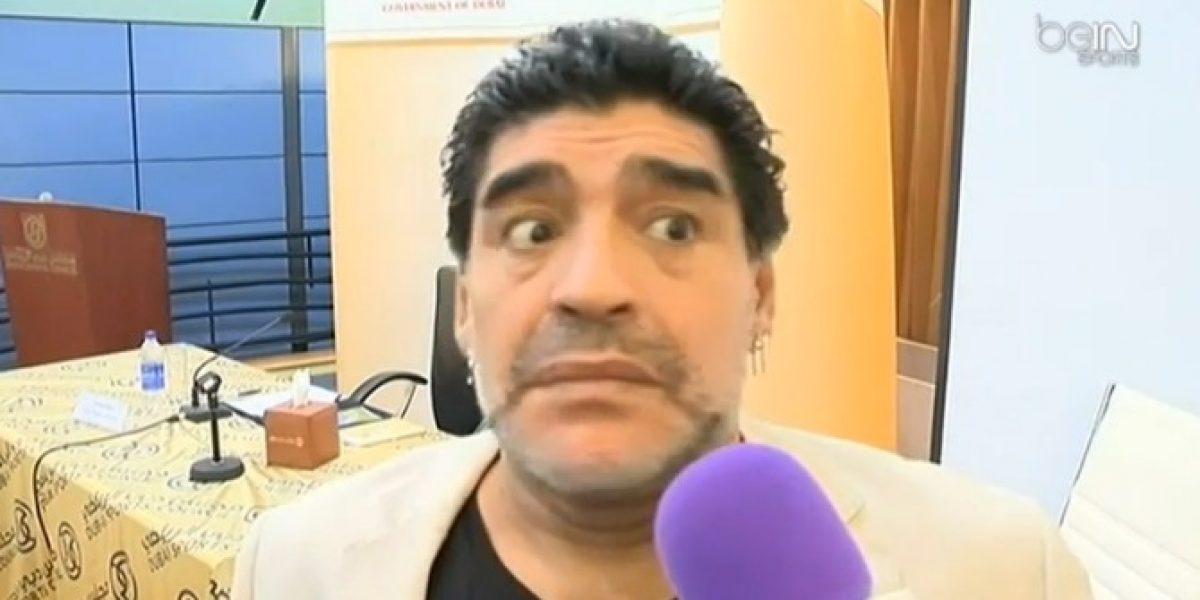 Video: ¡Otra de Diego! Mira su reacción ante una curiosa pregunta