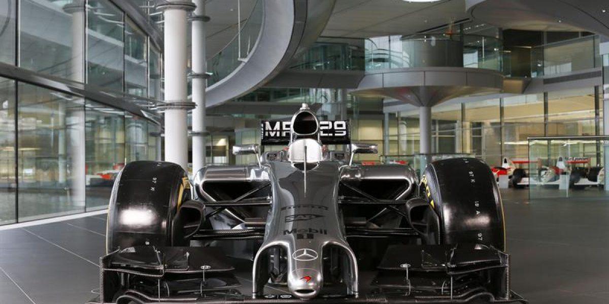 Escudería McLaren presentó nuevo vehículo de Fórmula 1