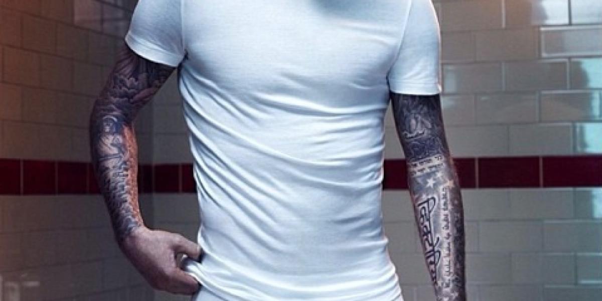 David Beckham en ropa interior en nueva campaña para H&M