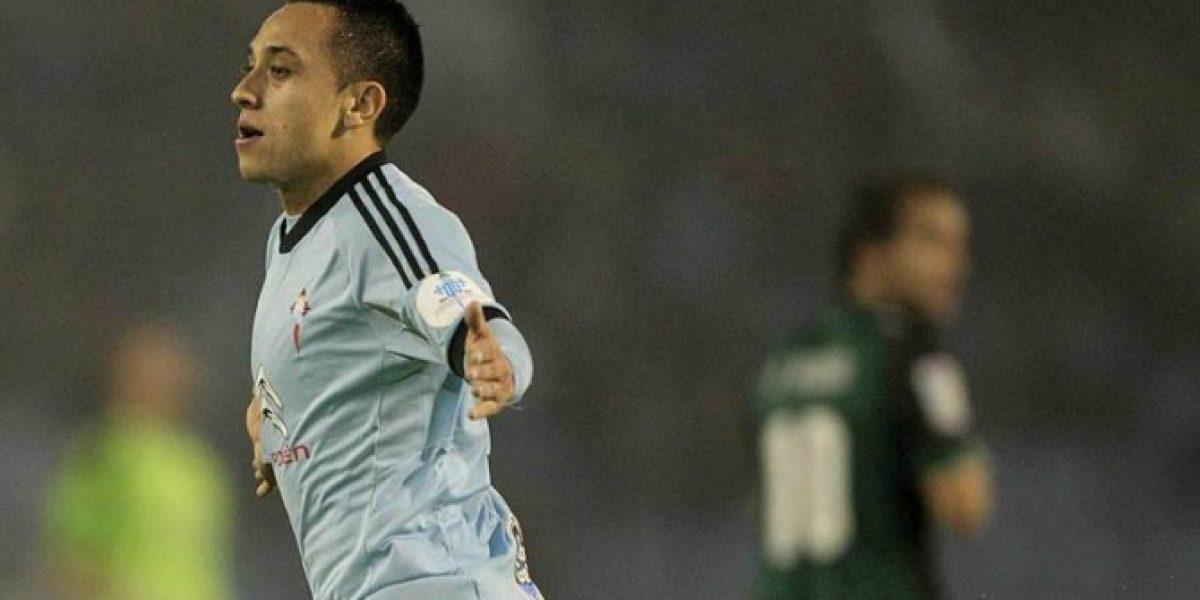 Fabián Orellana marcó doblete en victoria de Celta sobre Betis de Lorenzo Reyes