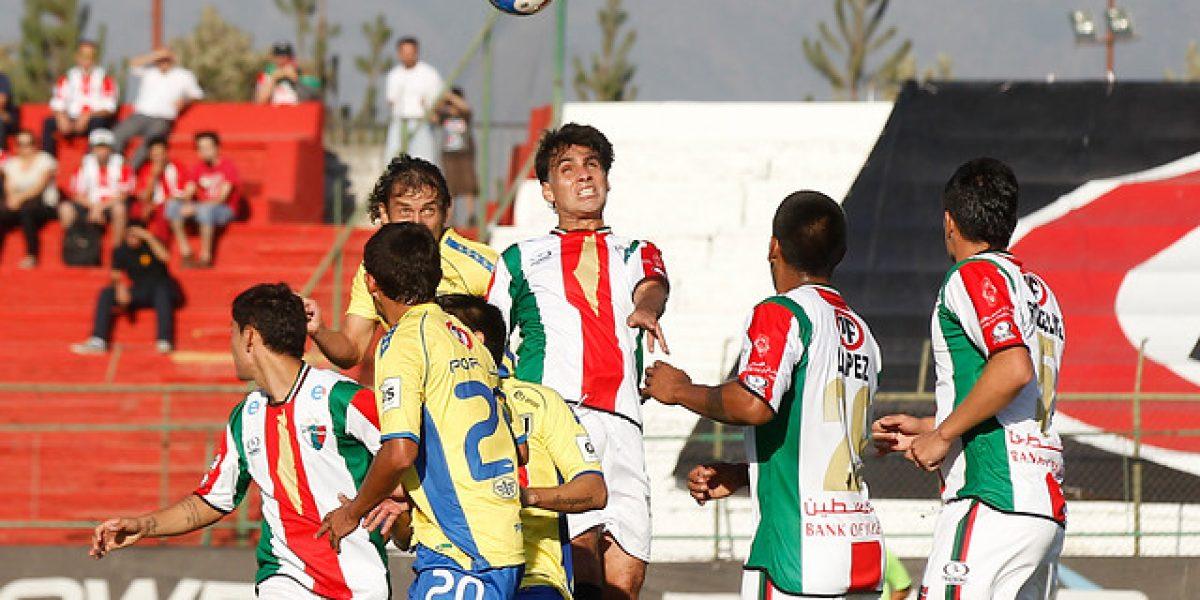 Palestino gana en la agonía y es puntero del Clausura 2014