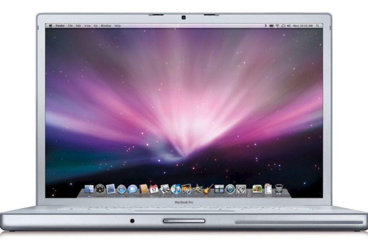Macbook 2009 Foto:Apple. Imagen Por:
