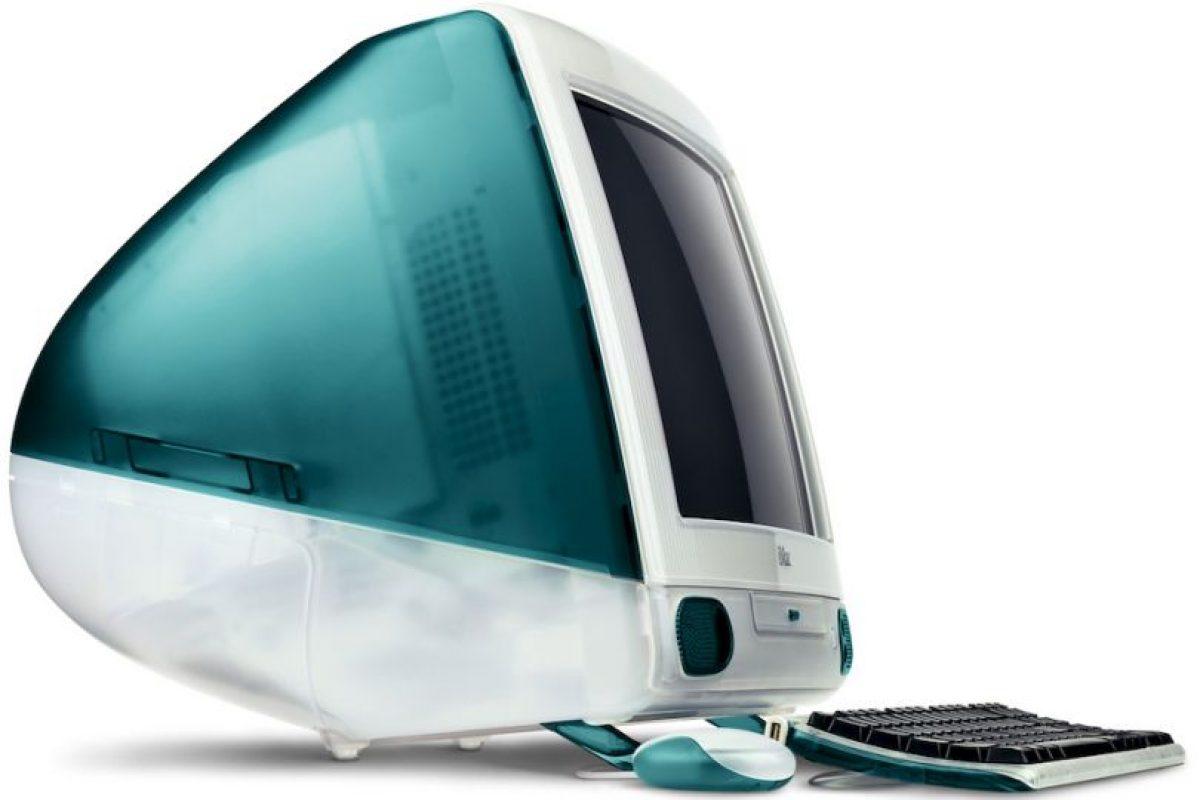 iMac 1998 Foto:Apple. Imagen Por: