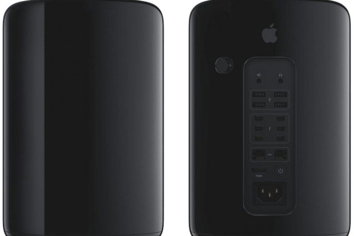 Mac Pro 2013 Foto:Apple. Imagen Por: