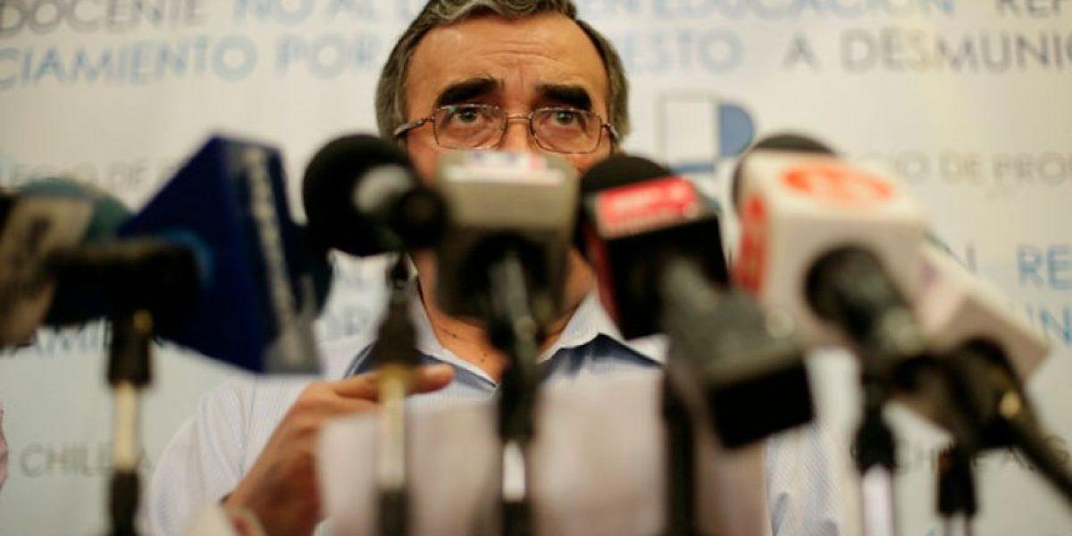 Fotos: Colegio de Profesores valora el nombramiento de Nicolás Eyzaguirre