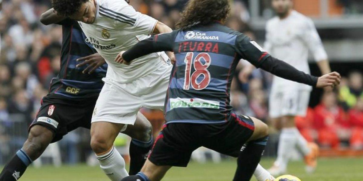 Granada de Manuel Iturra cae ante Real Madrid en el Santiago Bernabéu