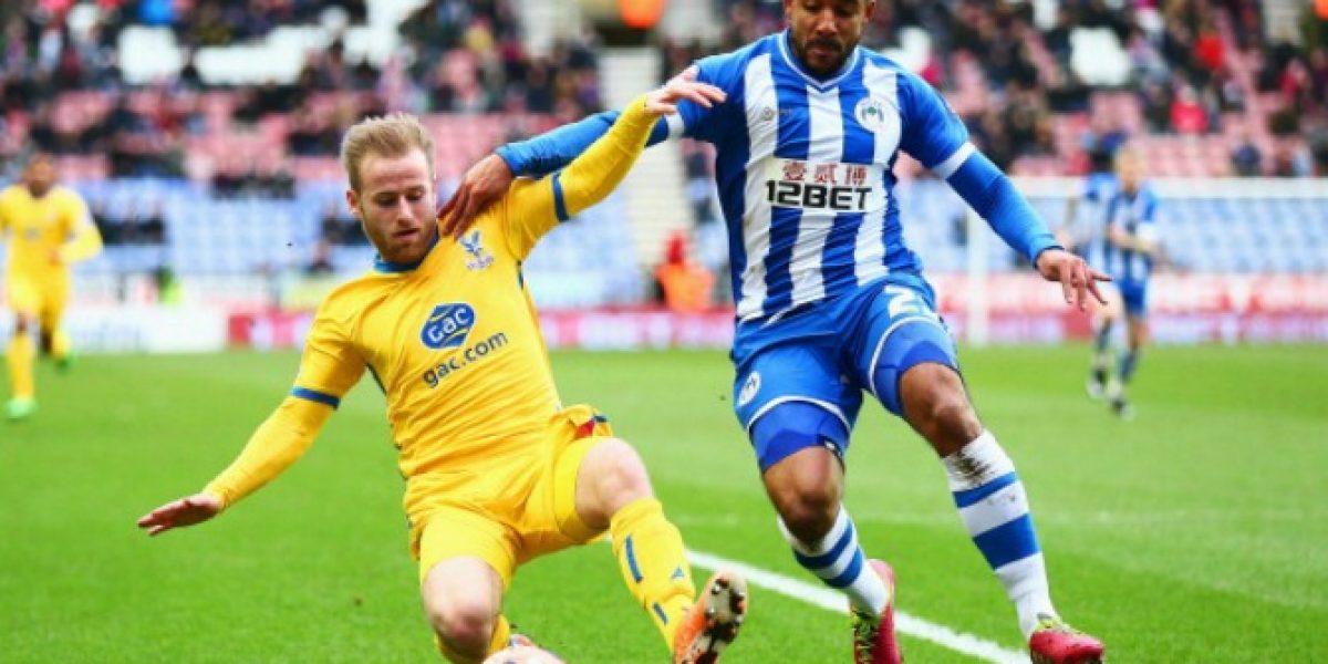 Beausejour fue titular en triunfo del Wigan en la FA Cup