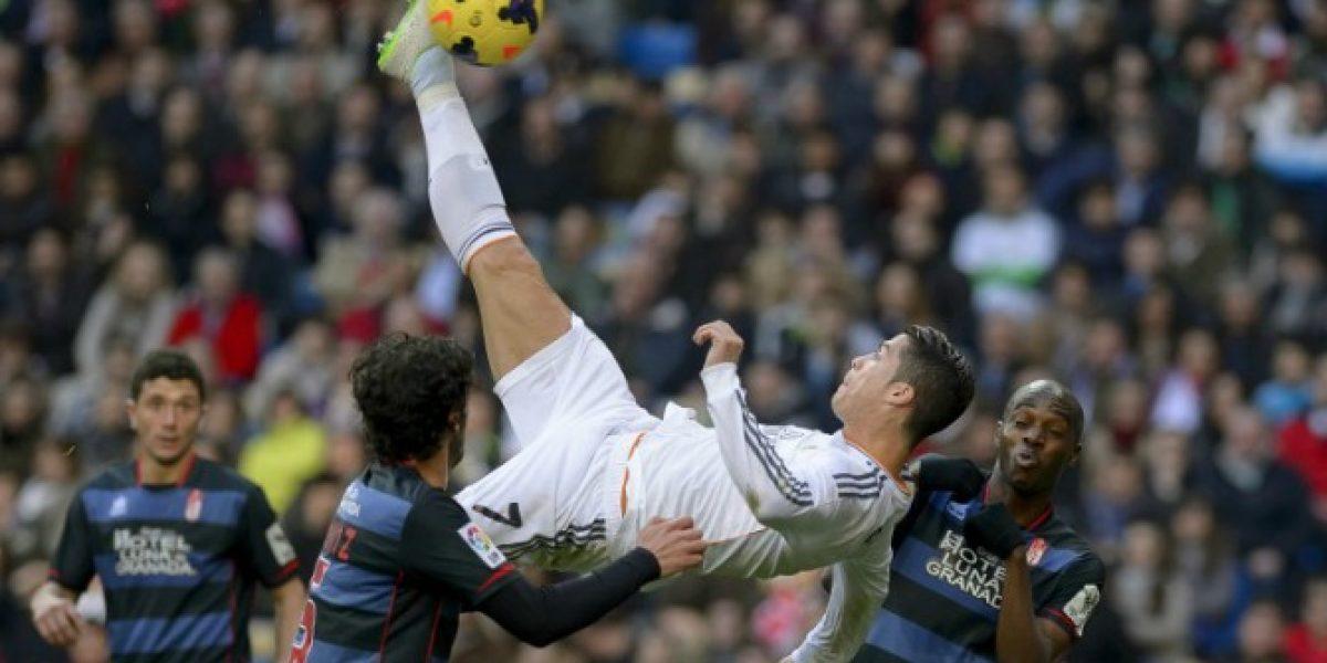 Video: La espectacular chilena de Cristiano Ronaldo que casi entra a la historia