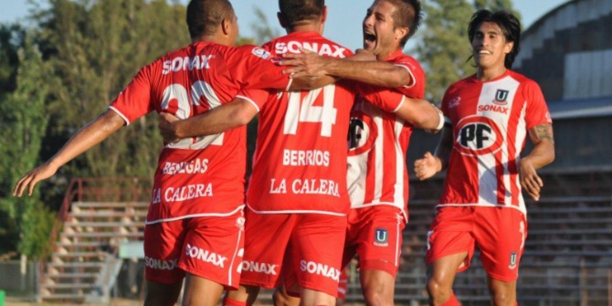 Unión La Calera y ganó y se encarama en la parte alta del Clausura