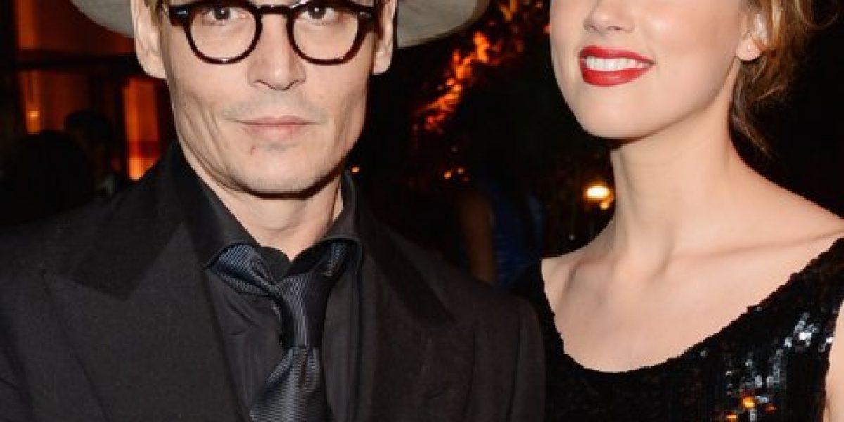 Amber Heard manda en su relación con Johnny Depp