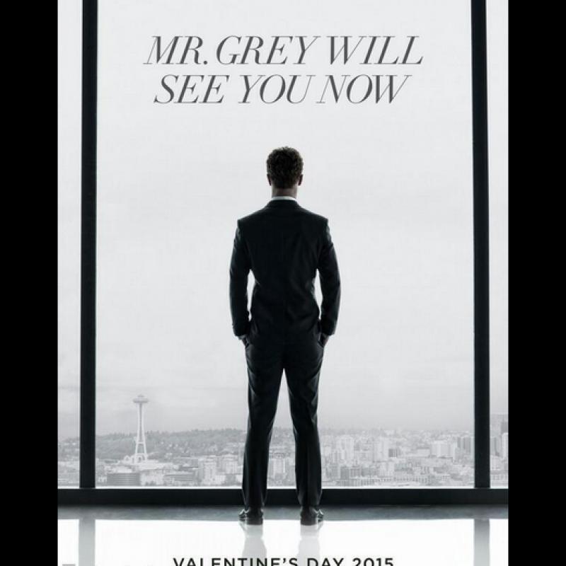 . Imagen Por: Revelan el primer póster de Cincuenta sombras de Grey, la película