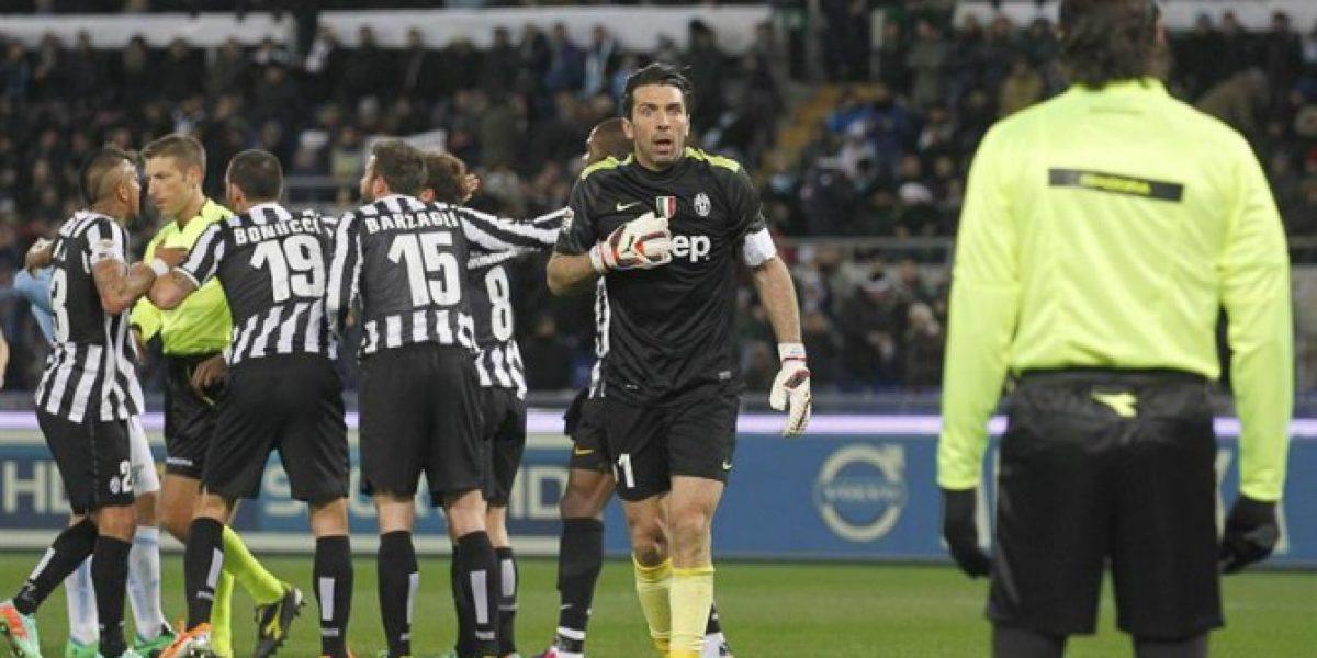 ¡Inesperado! Juventus de Arturo Vidal sufrió un traspié ante Lazio como visitante