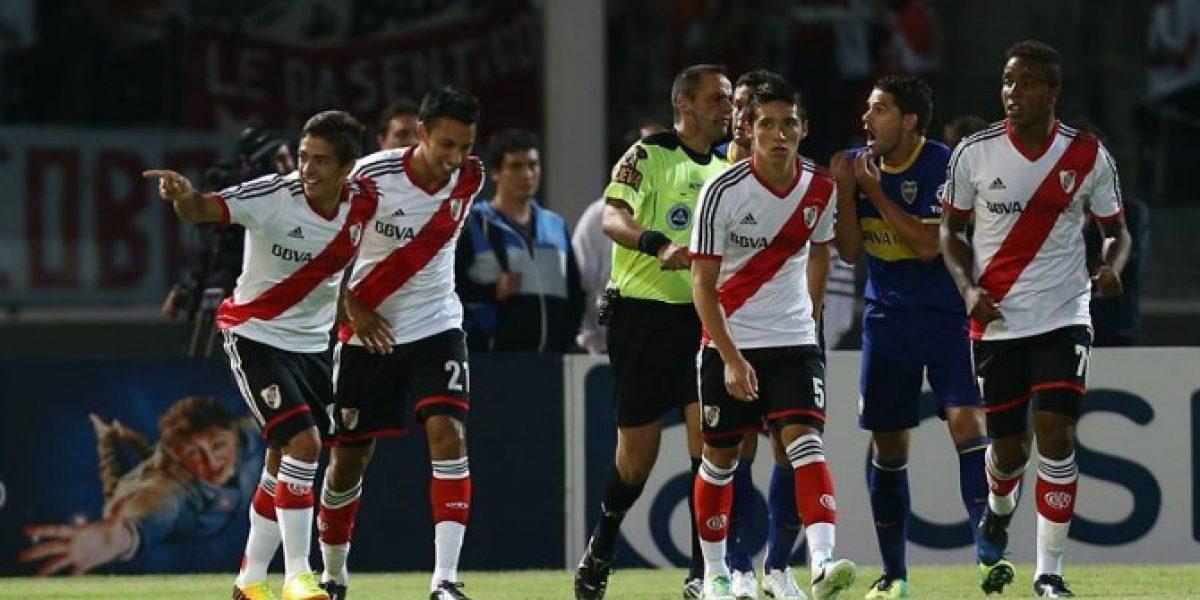 River Plate se impuso a Boca Juniors con Teo Gutiérrez como estandarte
