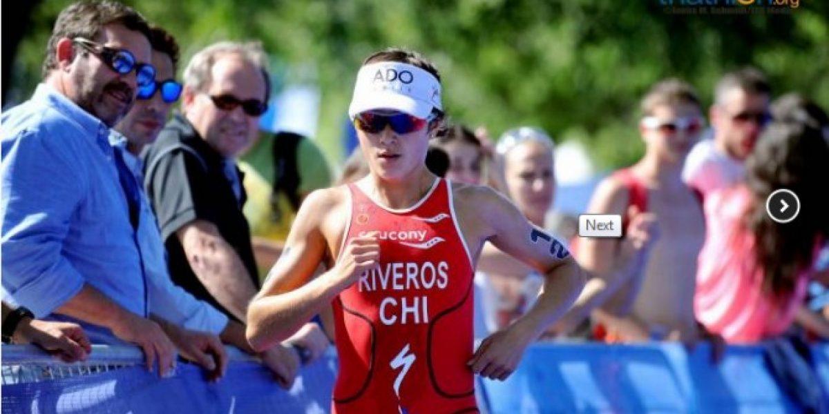 Triatlón: Bárbara Riveros logra destacado segundo lugar en el