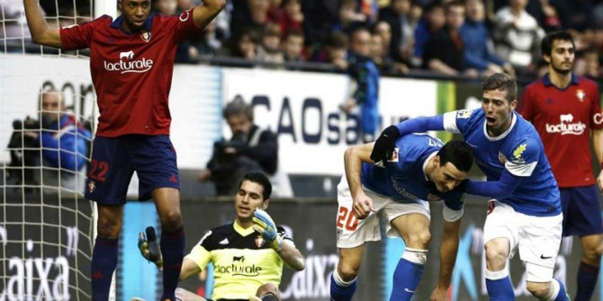Osasuna con Francisco Silva sufrió dura derrota ante el Athletic de Bilbao