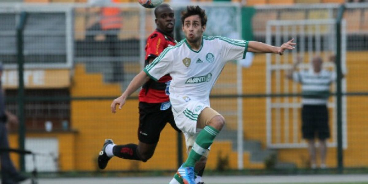 Valdivia anota su primer gol del año en triunfo de Palmeiras en Brasil