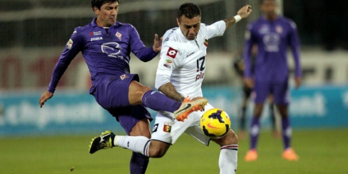 Pizarro y Fernández participan en empate de Fiorentina con Genoa