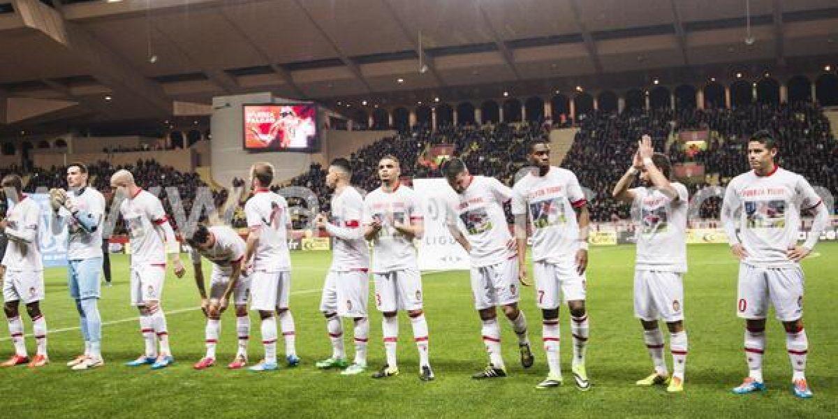 Mónaco se colmó de mensajes de apoyo para Radamel Falcao