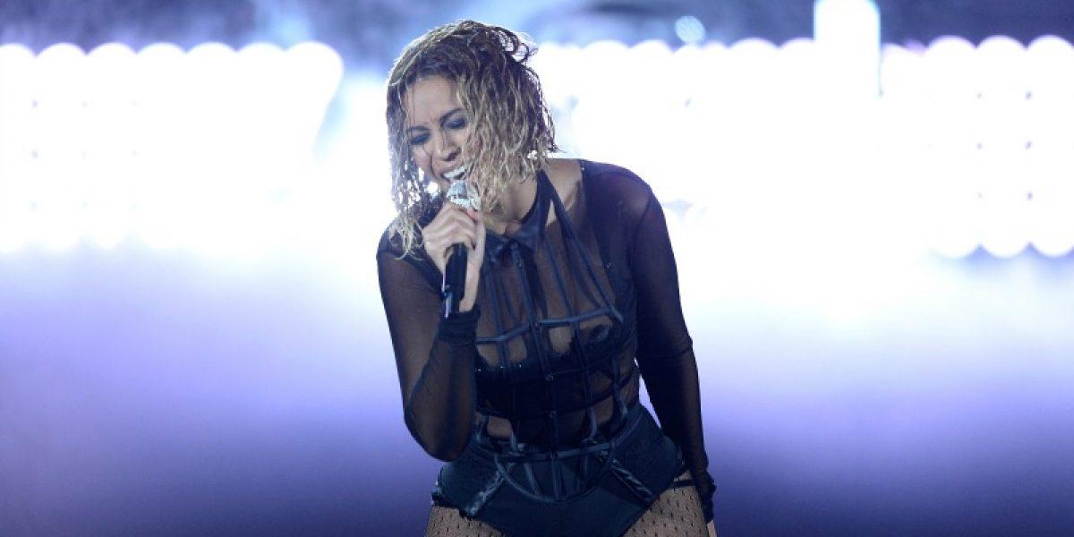 Así fue la sexy presentación de Beyoncé y Jay-Z en los Grammy Awards