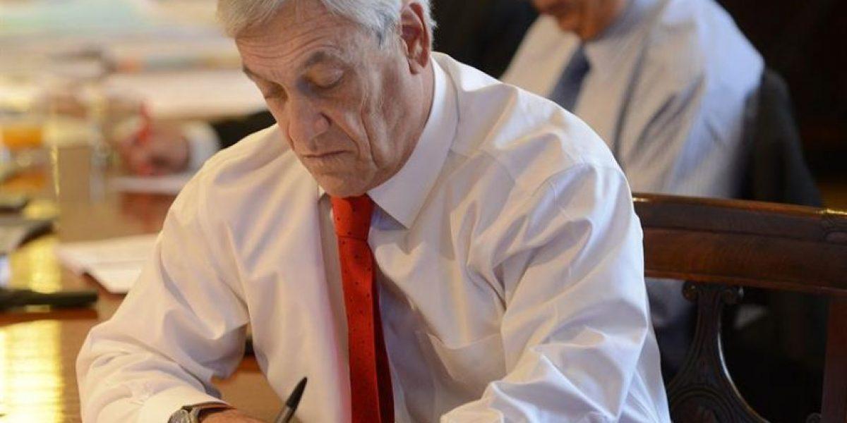 [FOTOS] Así vivió el Presidente Piñera el fallo de la Haya con su círculo cercano