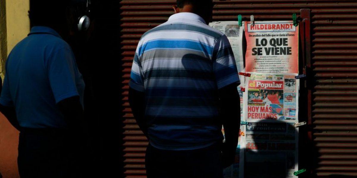 [FOTOS] Así esperan en Tacna los peruanos el fallo de La Haya