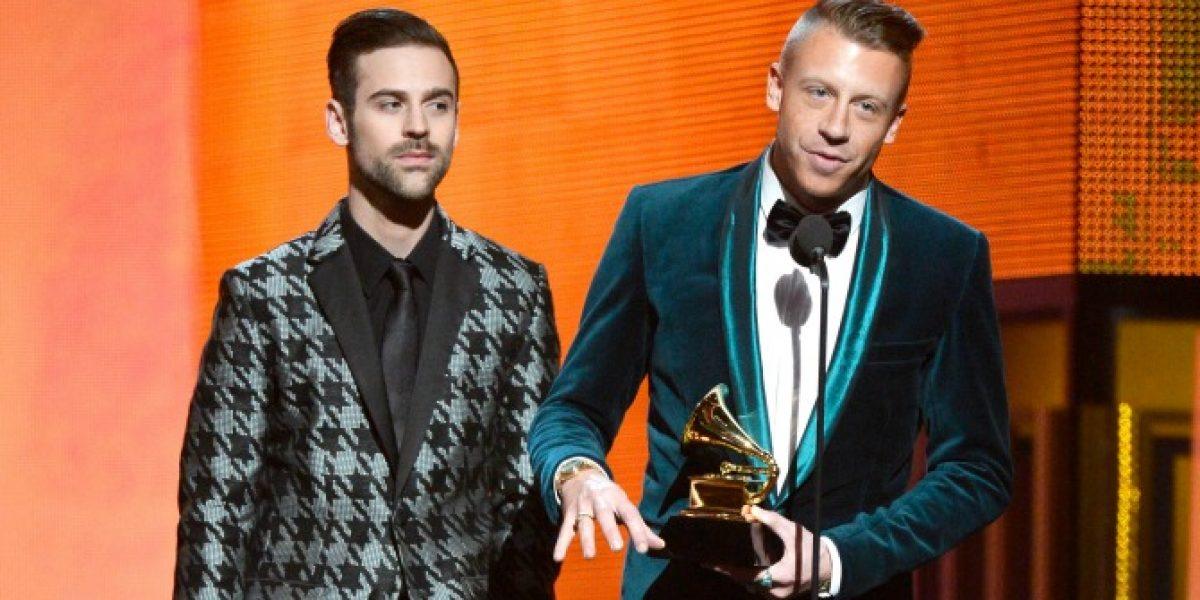 Daft Punk y Macklemore y Lewis pisan fuerte en los Grammy Awards