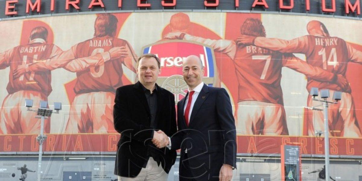 Cambia de marca: Puma vestirá a Arsenal desde la próxima temporada