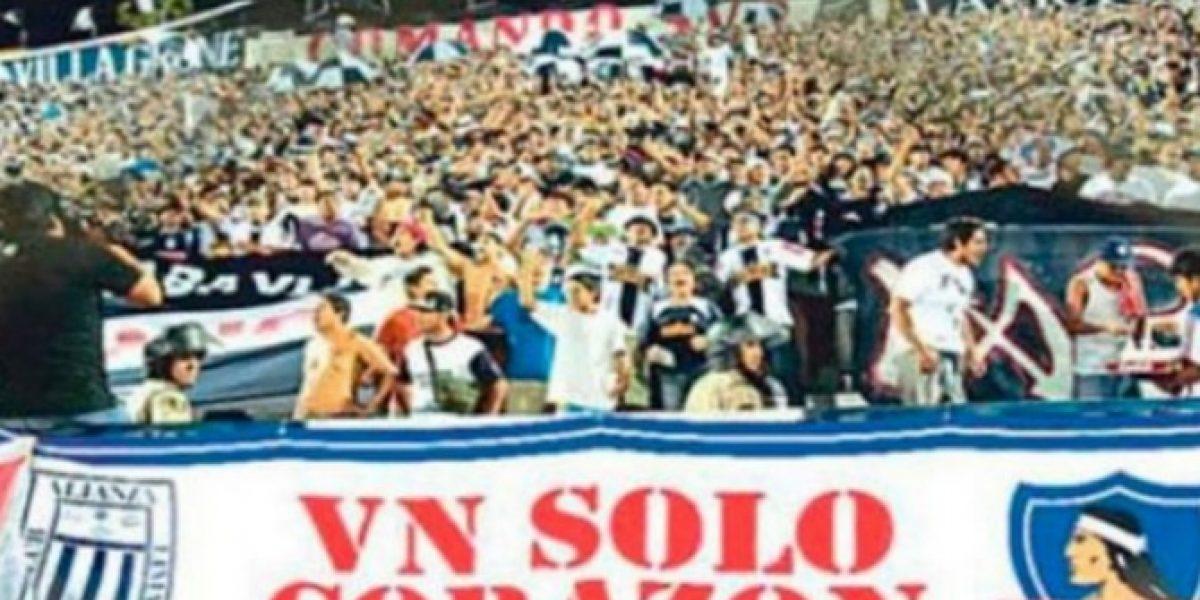 Barra de Alianza de Lima recordó amistad con Colo Colo debido a disputa marítima