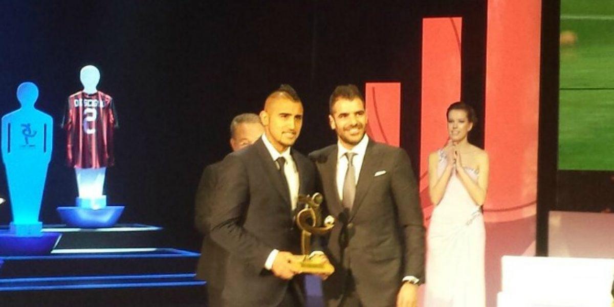 Vidal no se detiene: Fue premiado en la Gala del Calcio Italiano