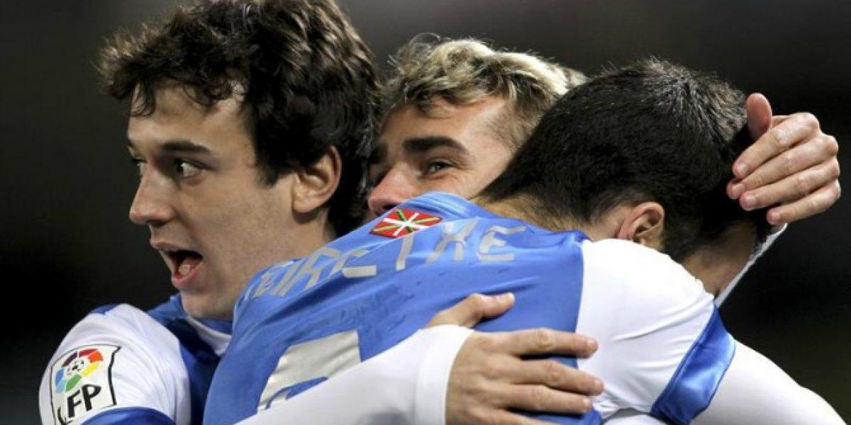 Claudio Bravo fue titular en goleada de la Real Sociedad al Elche por la liga española