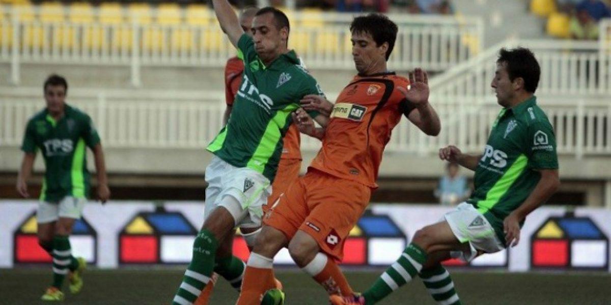 Wanderers y Cobreloa cerraron la cuarta fecha con un entretenido empate