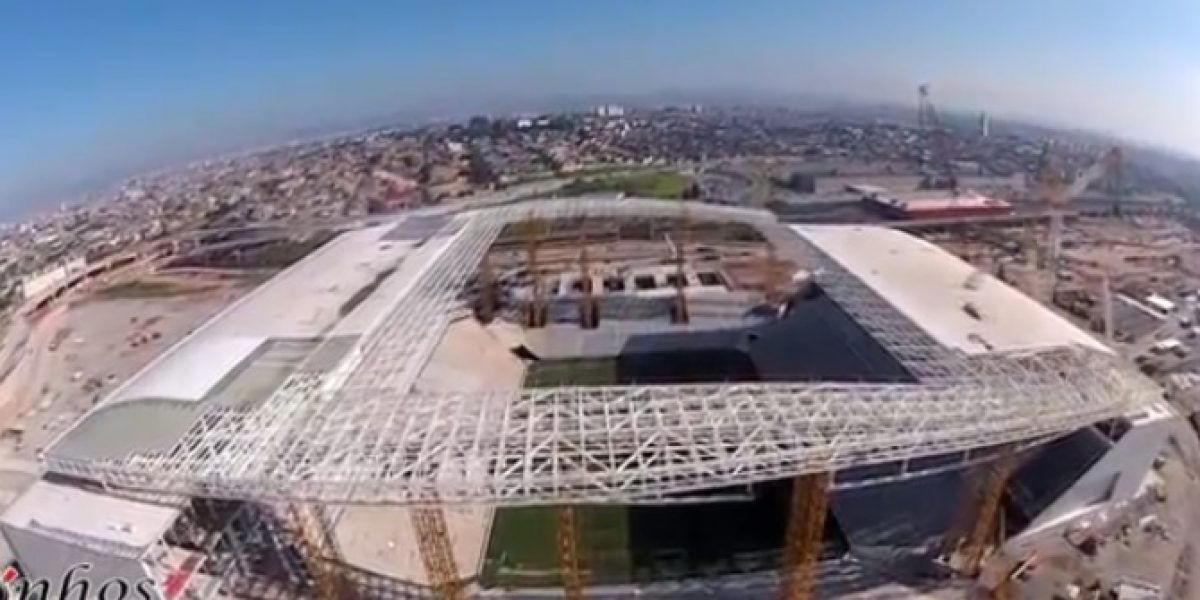 Video: Imágenes inéditas del nuevo estadio de Arena Corinthians