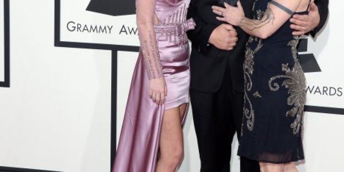 Músico de Slipknot sorprendió con su disfraz de payaso en los Grammy 2014