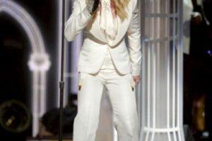 Madonna en los Grammy con el tema Open your heart y Same Foto:Getty images. Imagen Por: