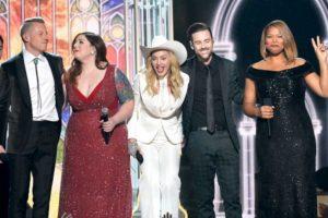 Finalizando su participación en los Grammy Foto:Getty images. Imagen Por: