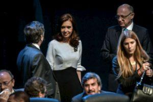 La presidenta de Argentina, Cristina Fernández de Kirchner, llega a la ceremonia de apertura. Foto:AFP. Imagen Por: