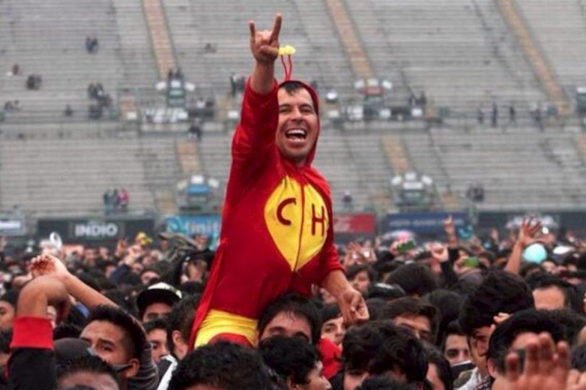 ¿Por qué no? Ir a un concierto y sobresalir en la audiencia Foto:tumblr.com. Imagen Por: