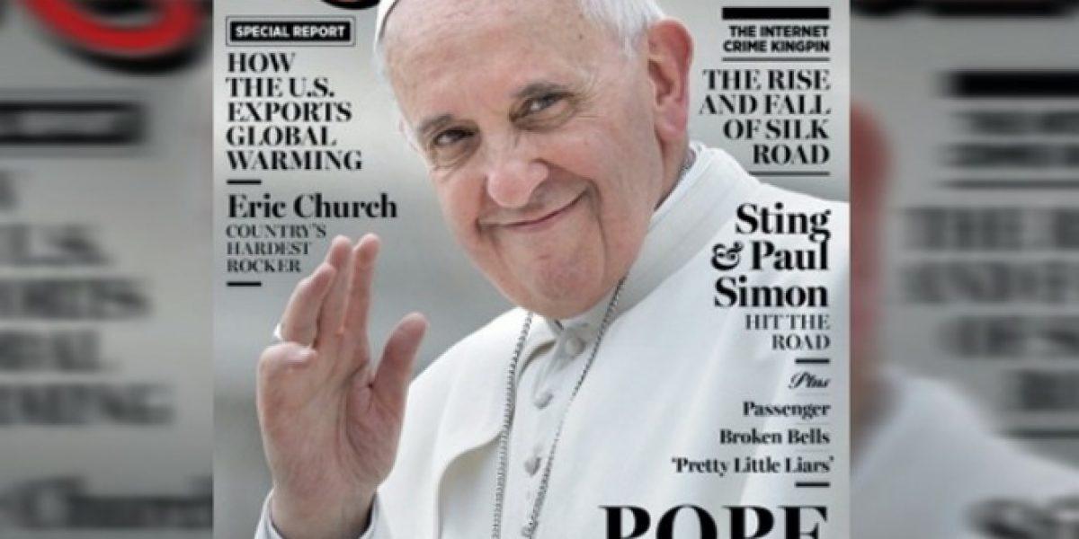 Papa Francisco vuelve a sorprender: Ahora es portada de Rolling Stone