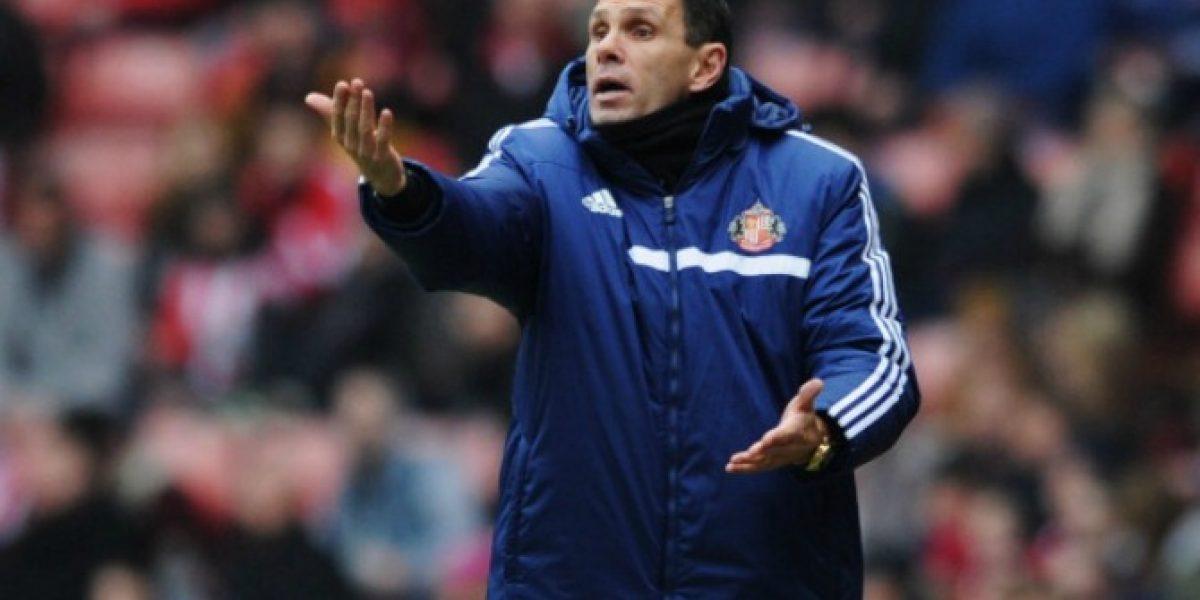 Técnico del Sunderland elogia a Pellegrini: