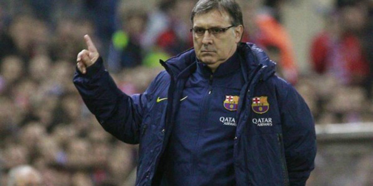 Tata Martino y el partido contra Levante: