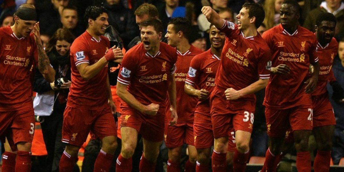 Los Reds imparables: Liverpool goleó en el clásico de la ciudad a Everton