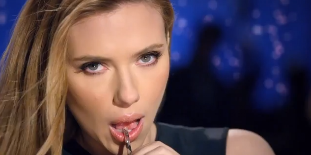 Scarlett Johansson es protagonista de un polémico spot publicitario