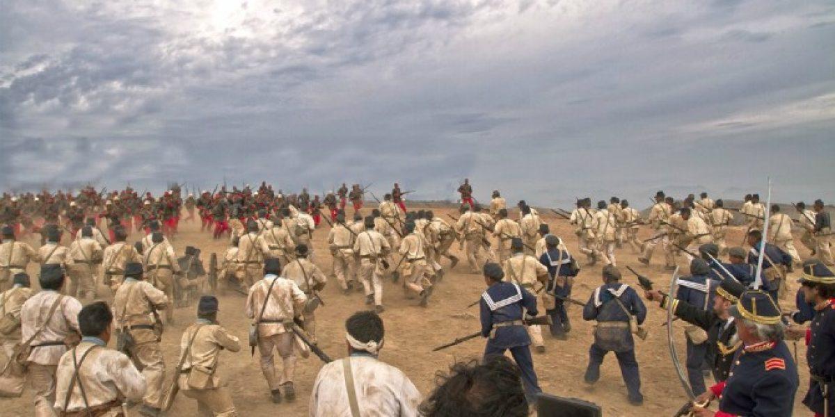 Perú prepara película épica sobre Guerra del Pacífico