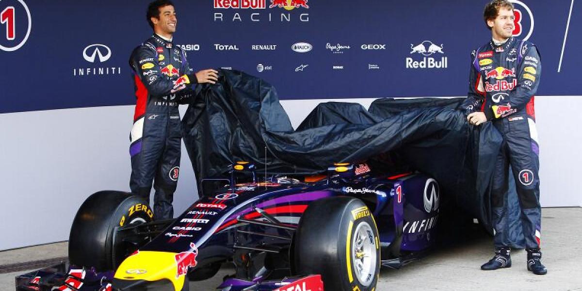 Van por el penta: Red Bull presentó su nuevo auto para el Mundial 2014 de la F1