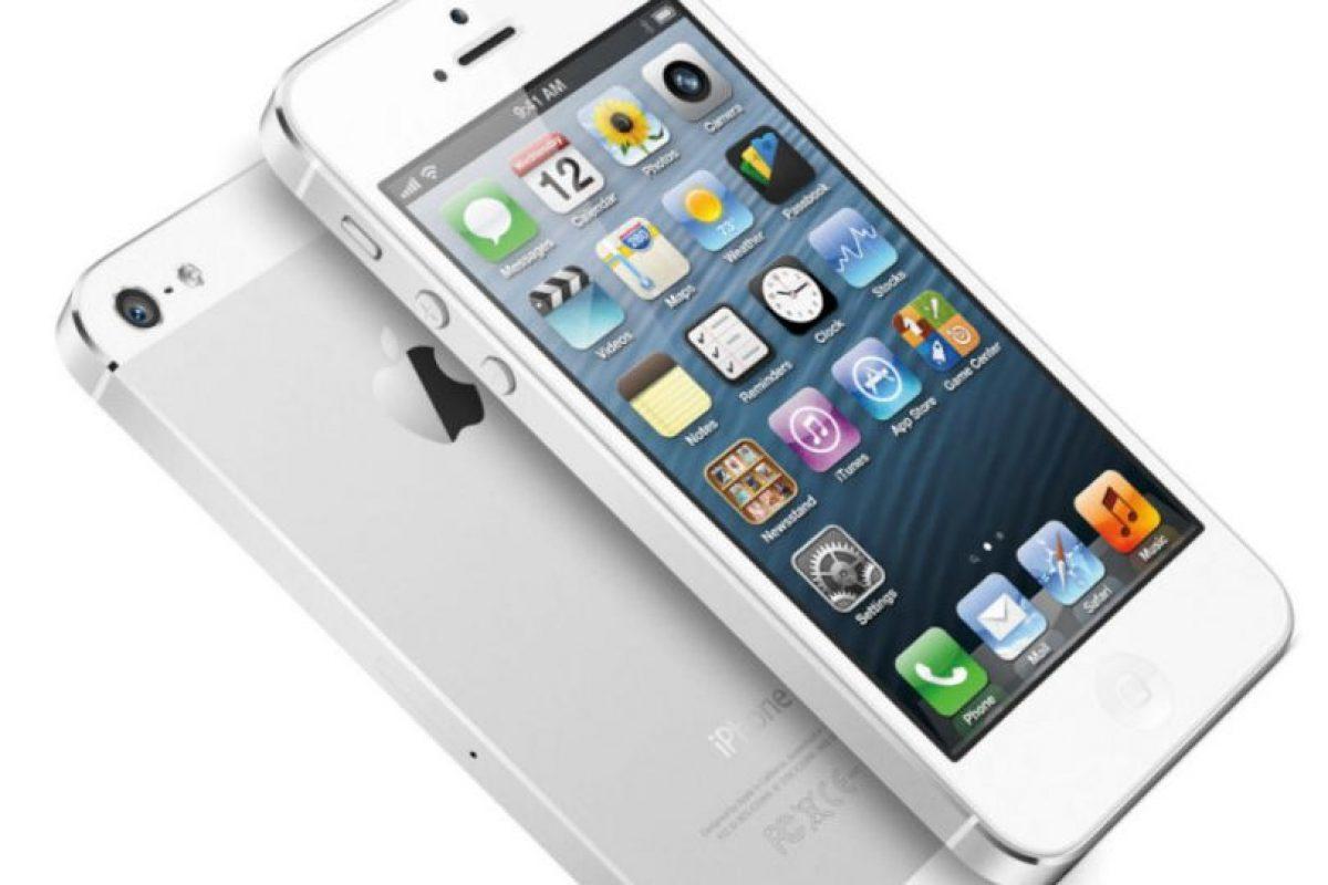 iPhone 5 (2012) Foto:Apple. Imagen Por: