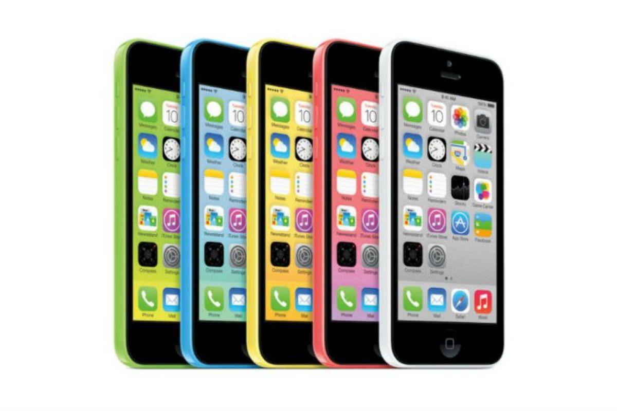 iPhone 5C (2013) Foto:Apple. Imagen Por: