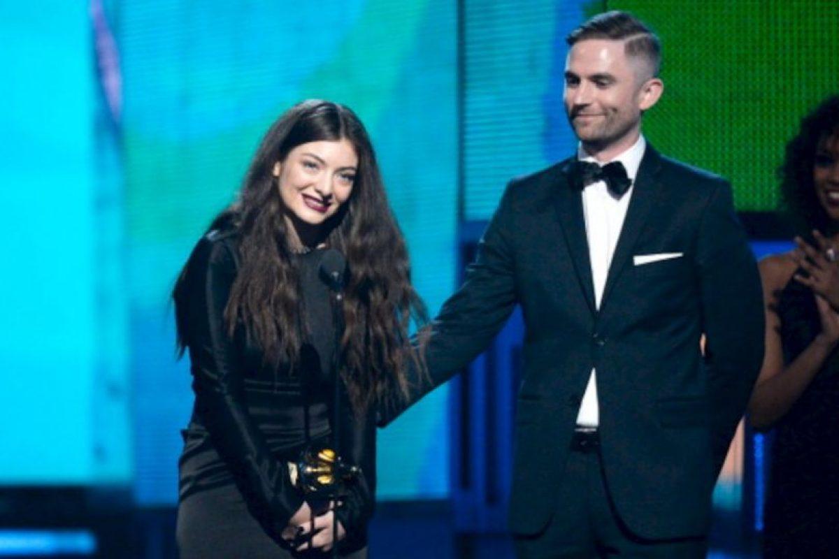 Lorde Grammy 2014 Foto:Getty image. Imagen Por: