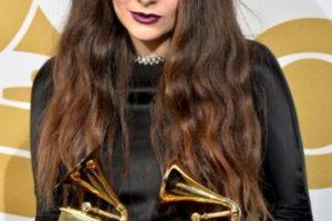 Lorde después de haber sido la ganadora a la Mejor intérprete solista Pop y por la Canción del año Foto:Getty image. Imagen Por: