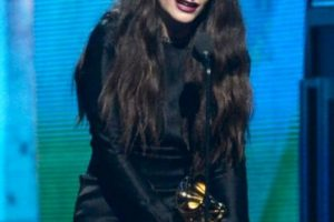 Lorde agradeció el premio Foto:Getty image. Imagen Por: